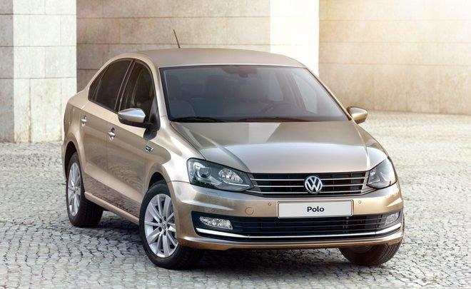 Volkswagen Polo возглавил рейтинг европейских автомобилей в России