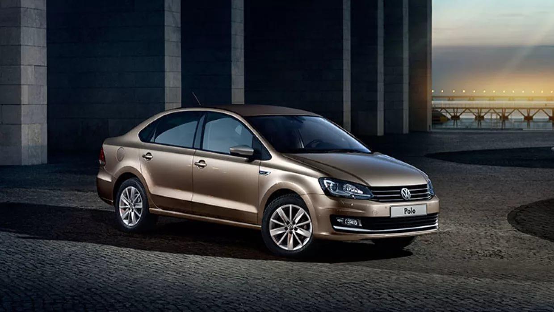 Появилось первое изображение нового Volkswagen Polo sedan