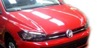 В сети появились первые фотографии нового седана Volkswagen Polo