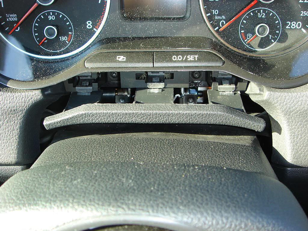 Установка мультируля Поло Седан (Polo Sedan)