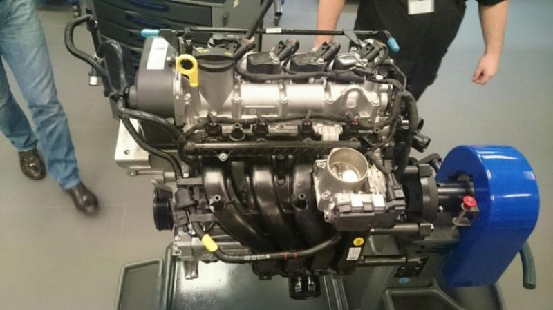 Поло седан с новым двигателем