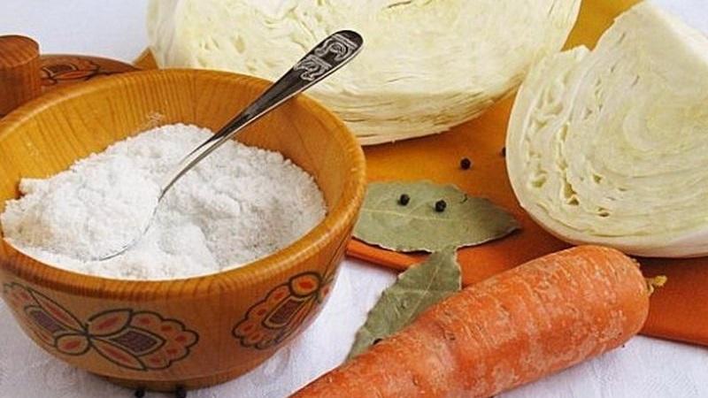 Как рассчитать, сколько нужно соли на 1 кг капусты для квашения