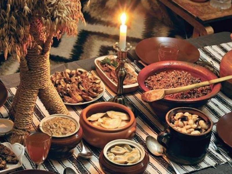 Календарь питания для мирян во время Рождественского поста