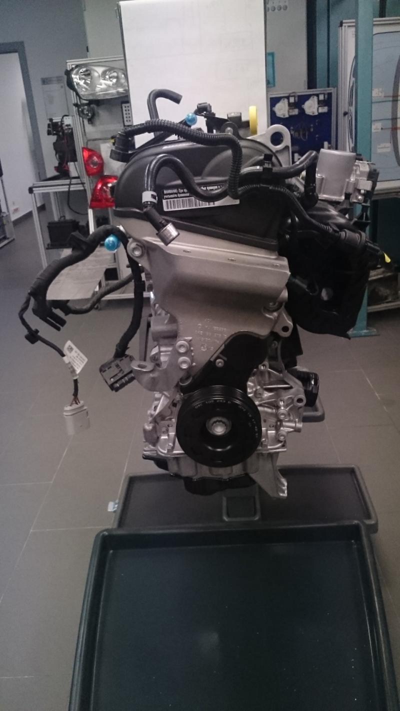 Новый двигатель 1,6 CVWA серии EA211 для нового Фольксваген Поло