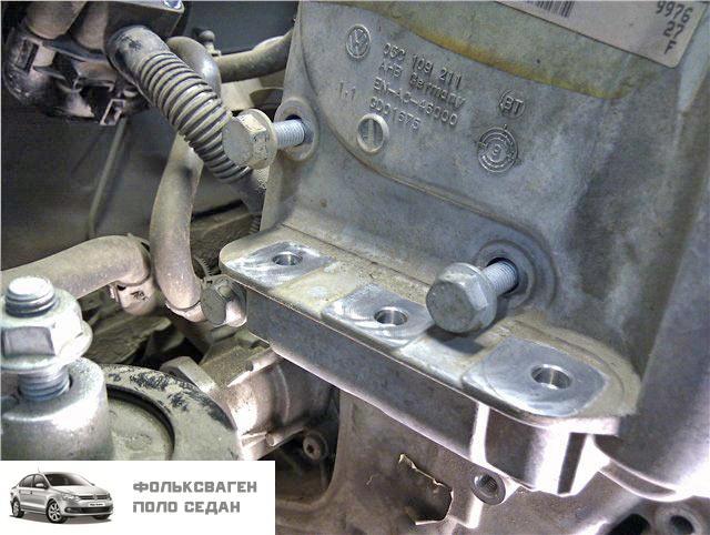 Стук при запуске двигателя 1,6 CFNA (CFN) на VW Polo Sedan