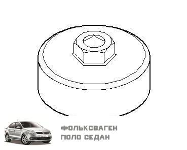 Замена моторного масла в Фольксваген Поло седан, двигатель CFN (CFNA)
