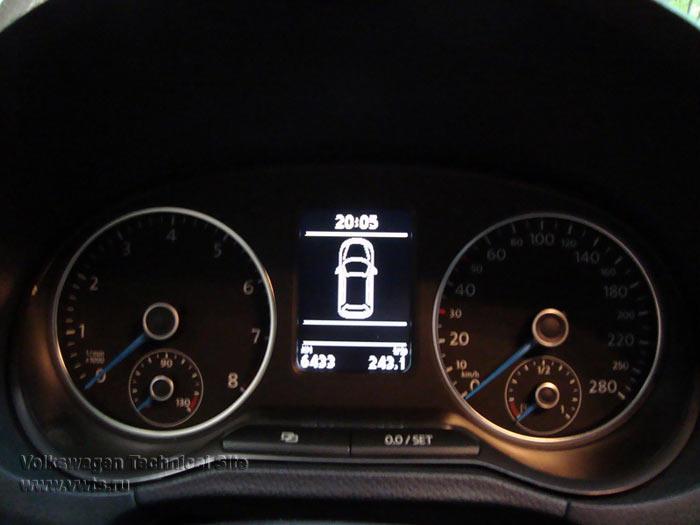 Замена панели приборов на Фольксваген Поло Sedan от Фольксваген Поло GTI