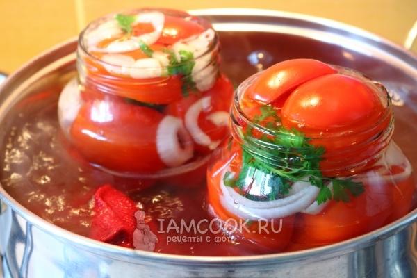 Засолка помидоров «Пальчики оближешь» на зиму