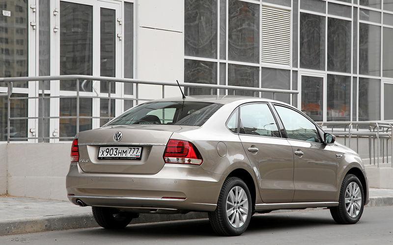 5 плюсов и один большой минус седана Volkswagen Polo