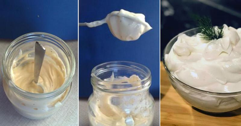 Домашний постный майонез - 7 рецептов с фото и видео