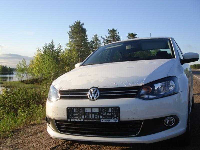 Правильная обкатка нового VW Polo Sedan