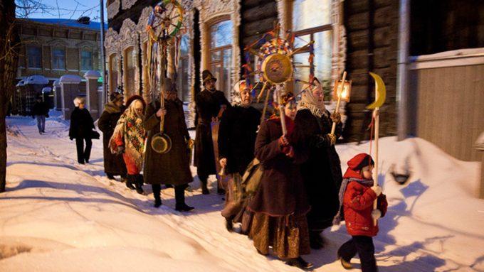 Щедровки и посевалки на Старый Новый год 2020 для детей и взрослых