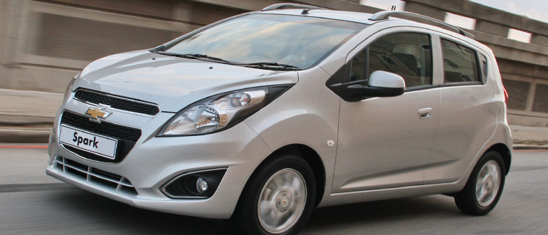 Chevrolet Spark маленькая недорогая машина с отличной вместимостью