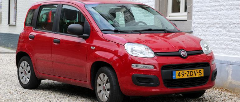 Fiat Panda маленькие машины для женщин марки недорогие автомат