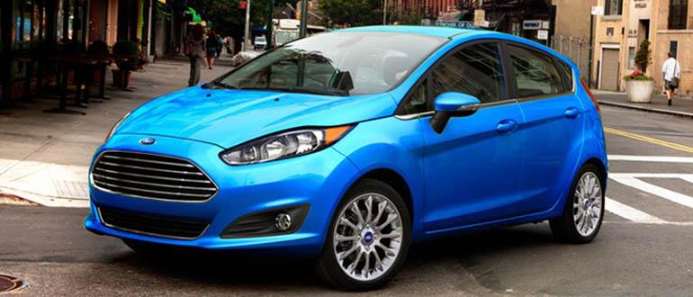 Ford Fiesta женские машины