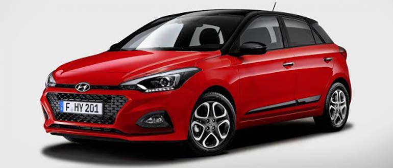 Hyundai i20 маленькие недорогие машины