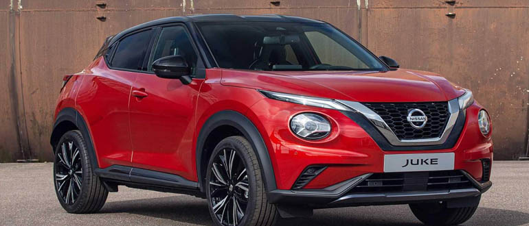 Nissan Juke маленькие авто
