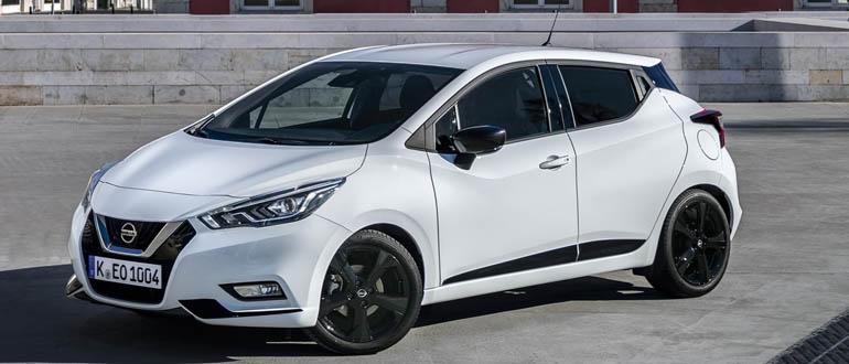 Nissan Micra маленькое авто с отличной динамикой