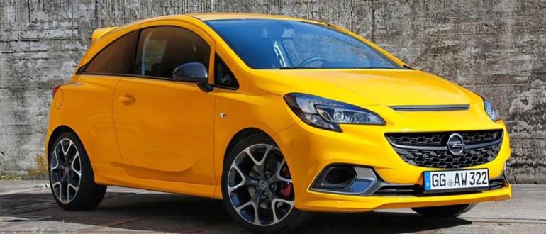Opel Corsa компактные автомобили