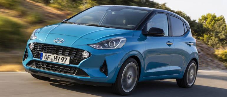 Hyundai i10 женский автомобиль недорогой