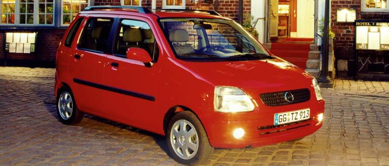 Opel Agila женские машины