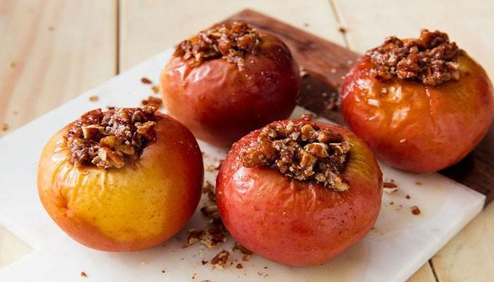 Хранение печеных яблок