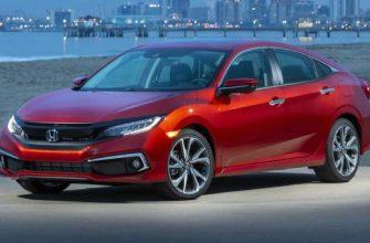 Honda Civic 2021 года