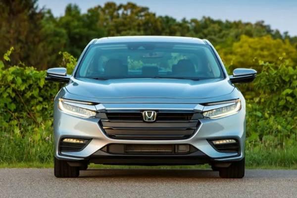 передний бампер новой Honda Civic 2021