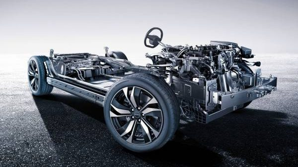 Габариты автомобиля Huawei Seres SF5 2021