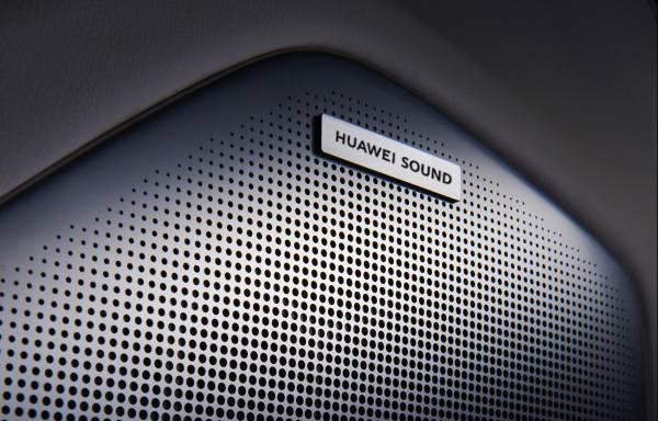 Sound колонка на автомобиле 2021 от компании Huawei