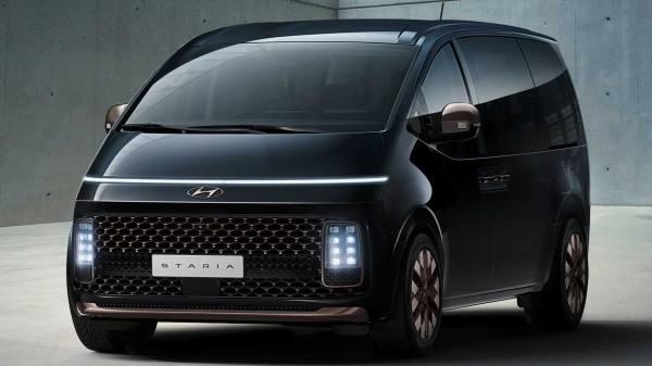 Новый минивэн Hyundai Staria 2021