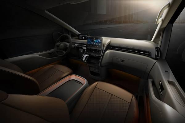 Управляемость Hyundai Staria 2021 2022