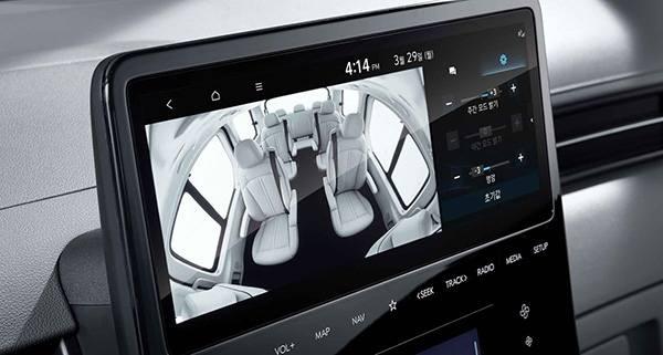 Hyundai Staria 2021 обзор салона