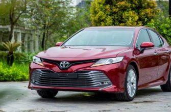 Обновленная Toyota Camry 2021 года