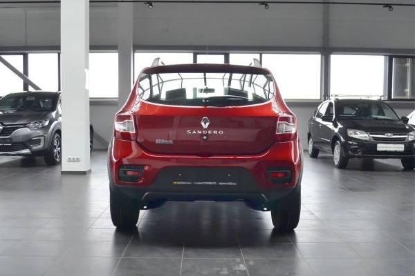 Renault Sandero Stepway 2021 задняя часть
