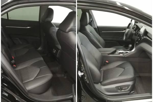 кресло водителя и пассажиров Toyota Camry 2021