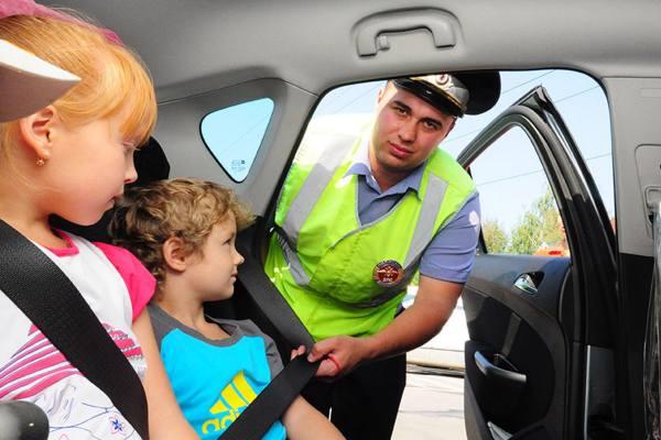 Штраф за непристегнутых детей